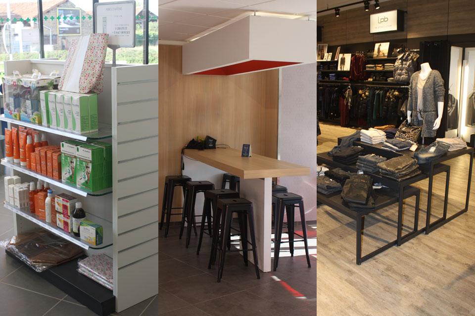 shop furniture-gondola-display-shelving-counter-accessories
