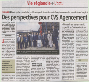 article presse-cvs agencement-chantier