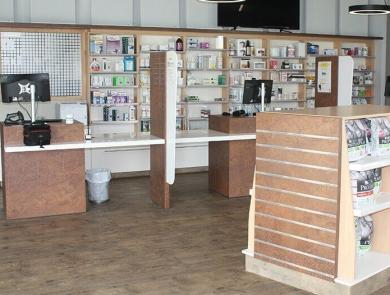 Counter of the Veterinary Clinic