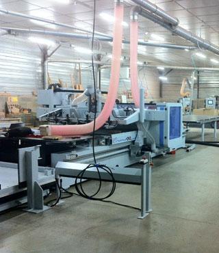 production workshop-CNC controlled machining centre-shopfitting- cvs-agencement